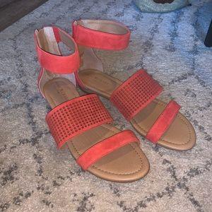 Isaac Mizrahi Coral Sandals
